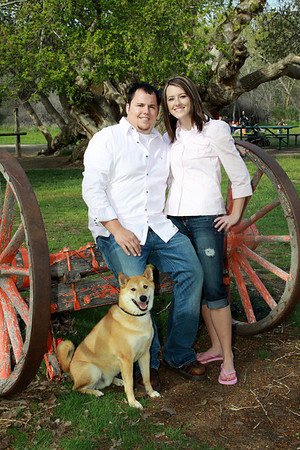 Mandy & Michael (engagements, wheeler farm)