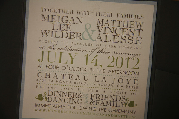 Alesse Wedding - 7/14/2012