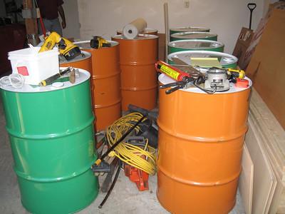 090703-Drums on Site - Garage -Deck - Bathroom
