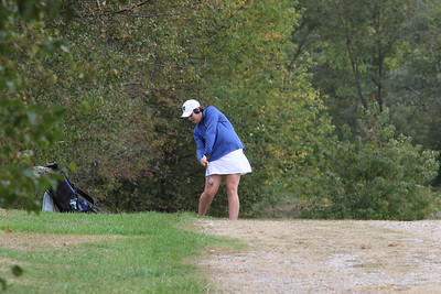 Girls Golf at West Bolton 9/28