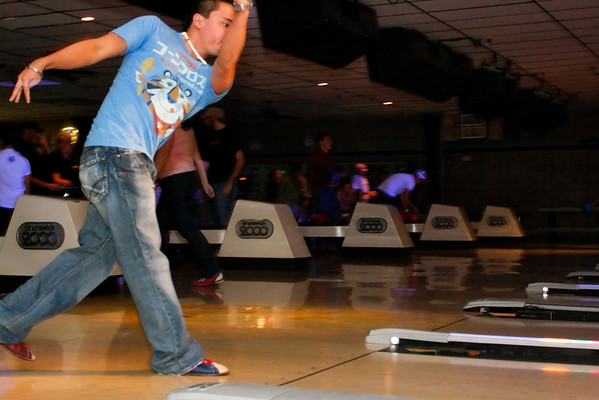 Pizza and Bowling (12.7.07)