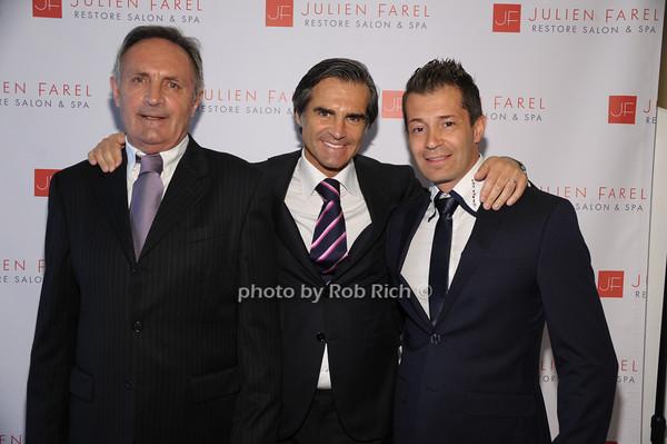 Paul Farel, Julien Farel, Ferdinand Gallinelli photo by Rob Rich/SocietyAllure.com © 2014 robwayne1@aol.com 516-676-3939