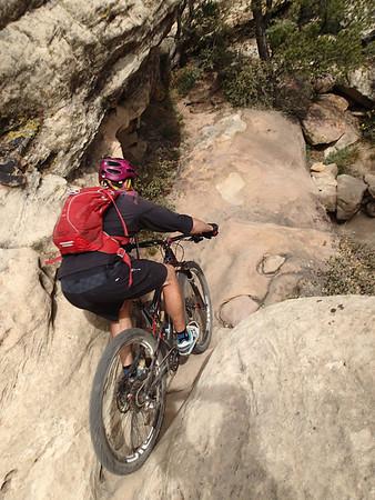 April 2014 Gooseberry / Hurricane / Little Creek Mesa MTB Trip