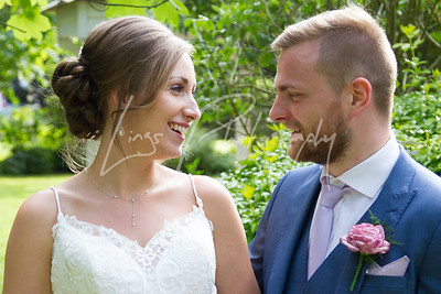 Chloe & Lawrence - The Stanwick Hotel