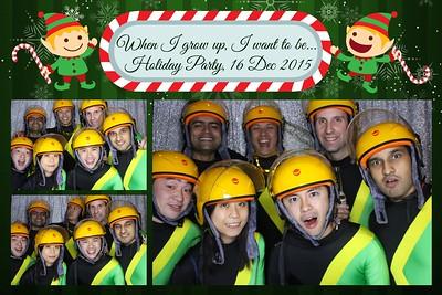 Citi Christmas Party 16 Dec 2015