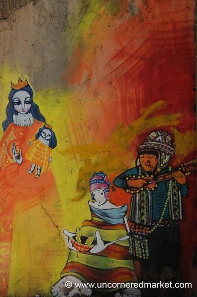 Mural: A Version of Bolivian Society