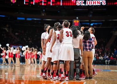 St. John's Red Storm 42 v Duke Blue Devils 60