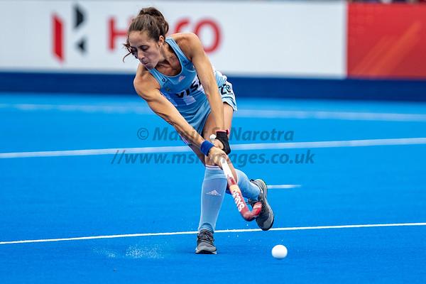 England vs Argentina FIH Pro Hockey League Womens 18th May 2019