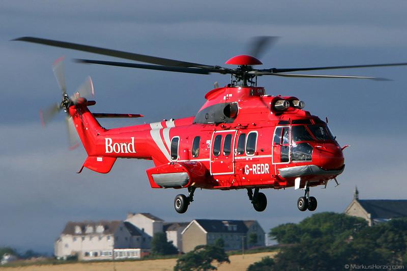 G-REDR EC225LP Bond @ Aberdeen Scotland 5Aug08