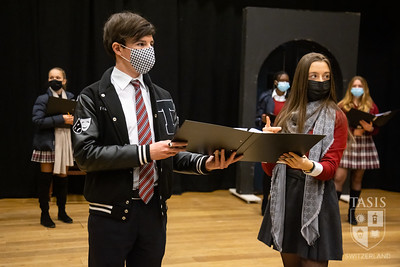"Early Rehearsal of Shakespeare's ""Much Ado About Nothing"""