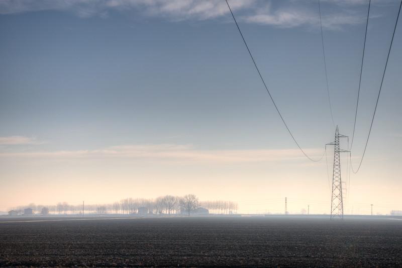 Morning Mist - Sant'Agata Bolognese, Bologna, Italy - December 22, 2011