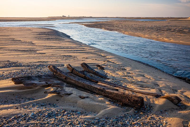 Herring Cove Beach with shipwreck piece & Race point Lighthouse.jpg