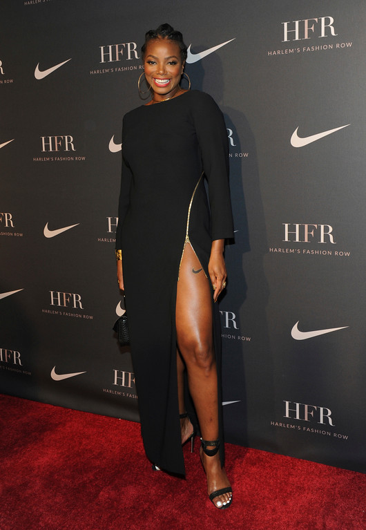 . Tai Beauchamp attends a fashion show and awards ceremony held by the Harlem Fashion Row collective and Nike before the start of New York Fashion Week, Tuesday, Sept. 4, 2018. (AP Photo/Diane Bondareff)