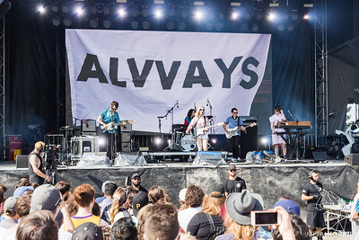 2018-08-04 Alvvays @ Osheaga