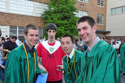 2009 -- May -- Brett Graduation