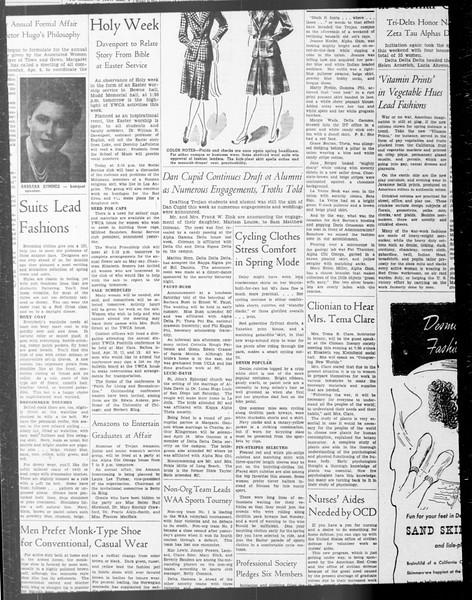 Daily Trojan, Vol. 33, No. 99, January 28, 1942