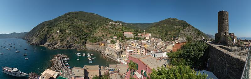 Vernazza - Vernazza, La Spezia, Italy - August 29, 2015