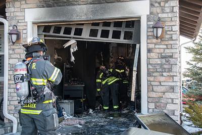 456 Maplehurst Dr. Garage Fire