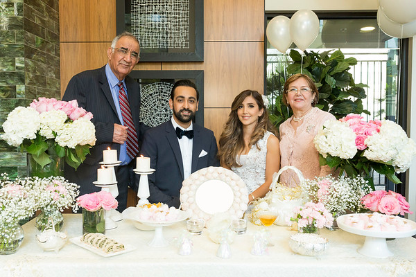 Maziyar and Bahare Engagement Party 7.28.18