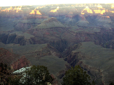 05 Arizona: Grand Canyon Sunset - Mather Point