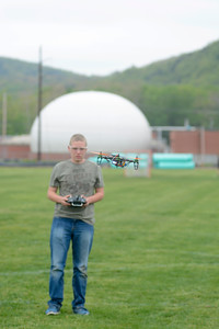 Drones at the Danville Middle School