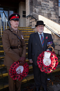 Remembrance Day Parade Bridgend 2012