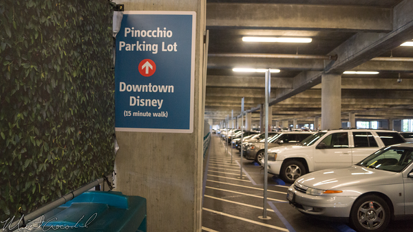 Disneyland Resort, Mickey and Friends Parking Structure, Mickey, Friends, Parking, Structure, Tram, Security, Bag, Check