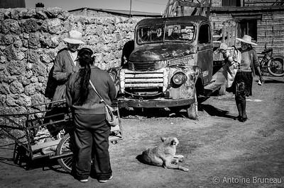 Colchani, Bolivia.