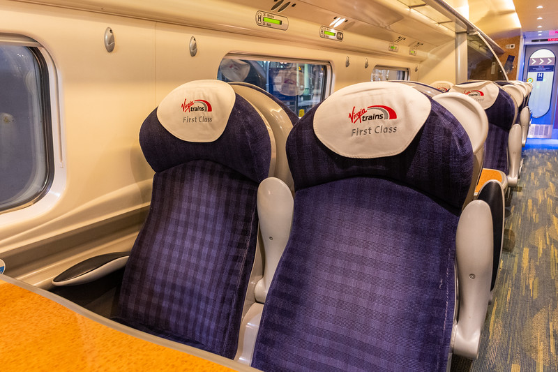 Virgin Trains - First Class on a Pendolino