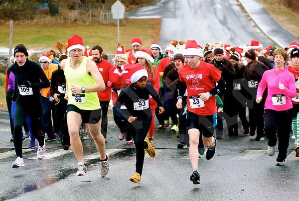 2013 Annual Santa Run/Walk