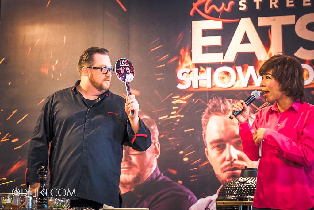 Resorts World Sentosa - RWS Street Eats Showdown - Chef Lorenz Hoja with Chua En Lai as Pornsak Sukhumvit