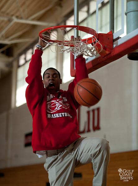 2011-01-25 Basketball Practice 8th grade boys SJS