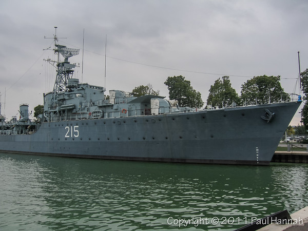 HMCS (DDE 215) Haida - Hamilton, ON