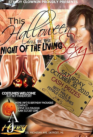 NIGHT OF THE LIVING SEXY OCT 30