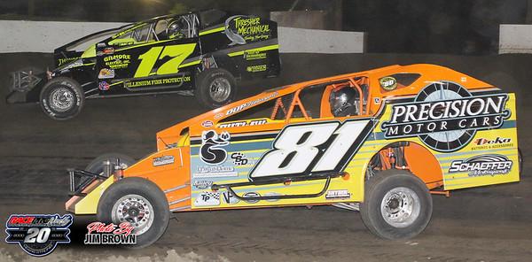 Grandview Speedway - 6/27/20 - Jim Brown