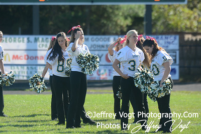 10-14-2013 Damascus HS Cheerleading & Poms,   Photos by Jeffrey Vogt Photography