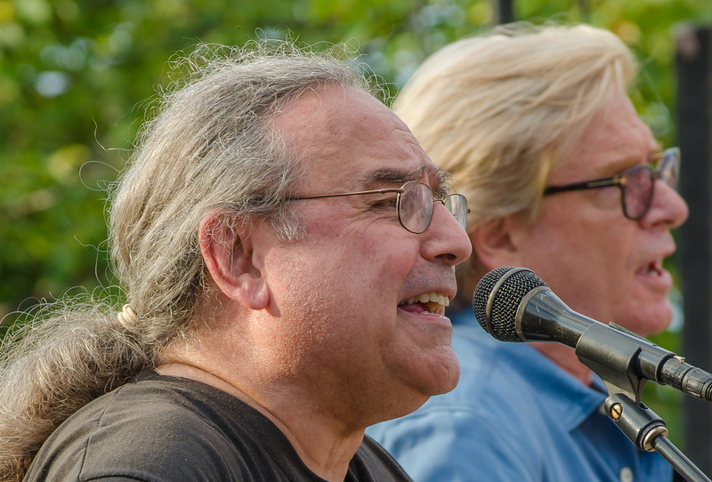 Billy Hallquist & Kevin Odegard--Blood on the Tracks 2012-St Louis Park , Veterans Memorial Park
