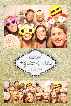 Elizabeth & Alexi Mantis' Wedding 12-7-2019