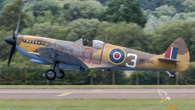 BBMF / Supermarine Spitfire Mk LF IXe / MK356