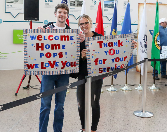 Welcome Home Ceremony September 2018