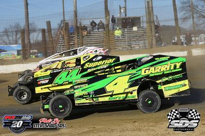 Georgetown Speedway - 3/8/20 - Steve Sabo (SDS)