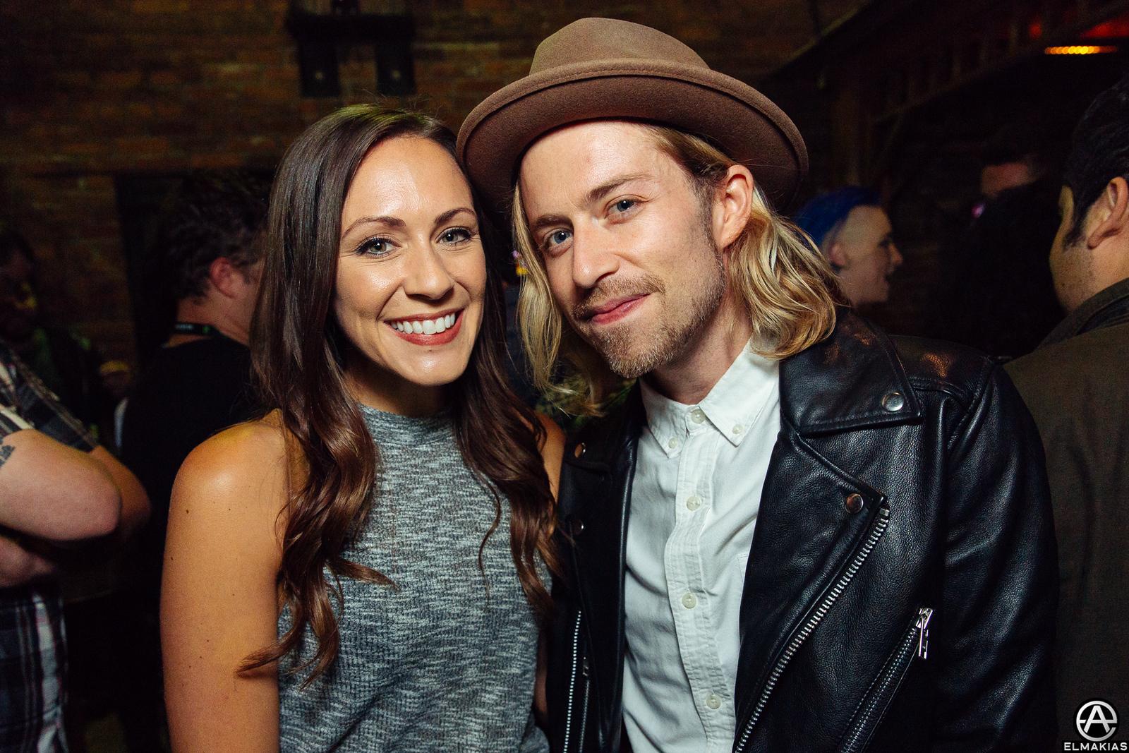 Tara and Bryce Avary of The Rocket Summer at the 2015 APMAs by Adam Elmakias