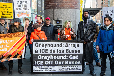 ICE Off Greyhound - NYC - Feb 23