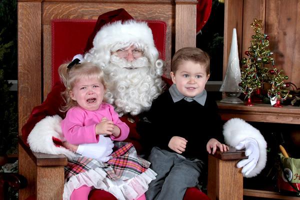 Rogers Gardens Santa Photos