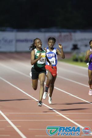 Class 3A - Running Event Finals - Girls 200m Dash