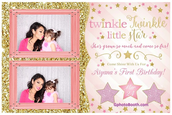 Aiyana's 1st Birthday