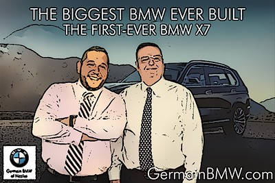 Germain BMW of Naples presents the BMW X7