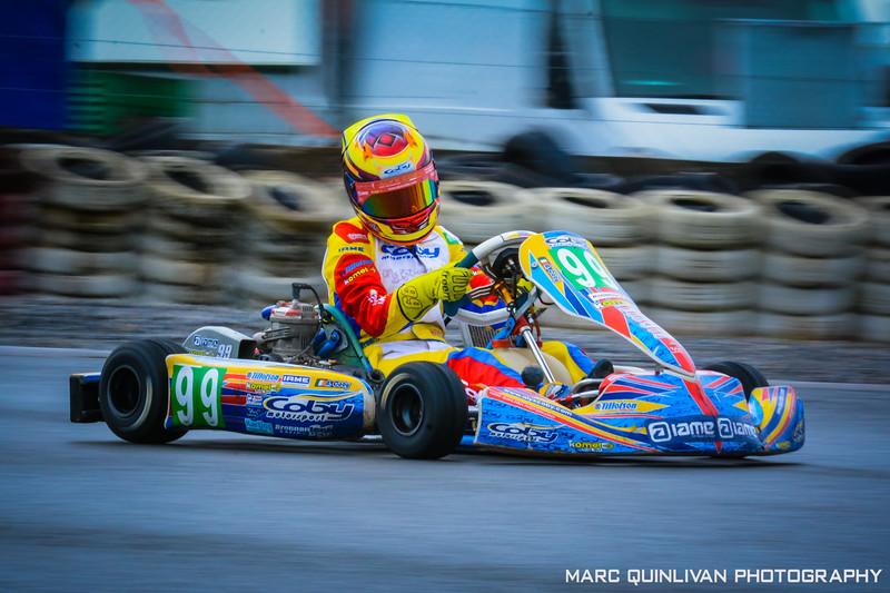 Motorsport Ireland Karting Championship 2017 - Round 9 - Galway