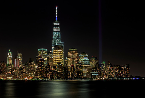 Freedom Tower Tribute of Lights