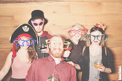 1-13-17 Atlanta The Woodlands PhotoBooth - Bottle Release Party - RobotBooth